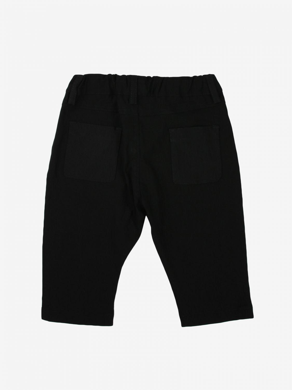 Pantalone Daniele Alessandrini: Pantalone bambino Daniele Alessandrini nero 2
