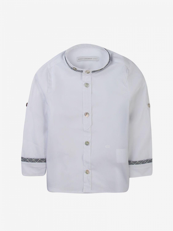 Camicia Daniele Alessandrini: Camicia bambino Daniele Alessandrini bianco 1