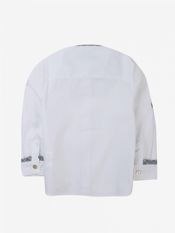 Camicia Daniele Alessandrini: Camicia bambino Daniele Alessandrini bianco 2