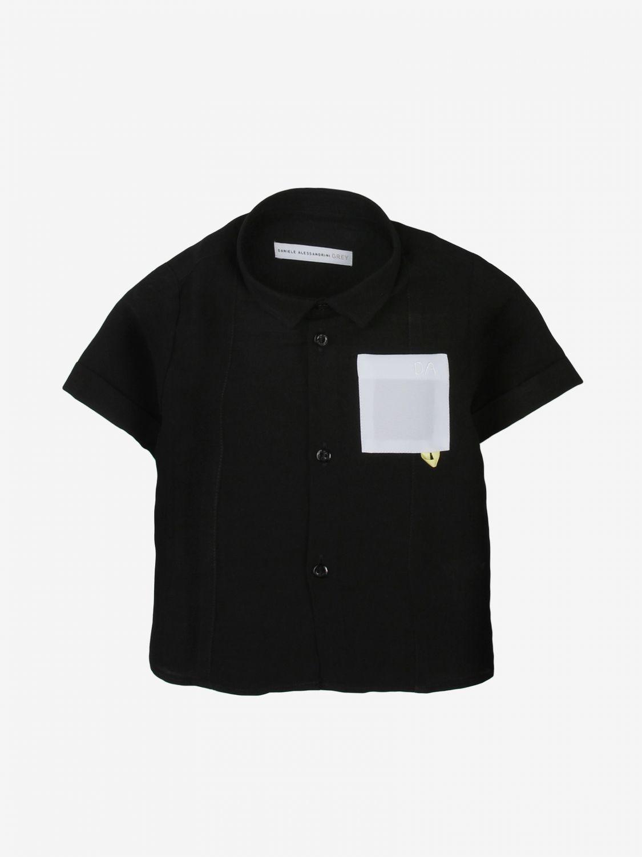 Camicia Daniele Alessandrini: Camicia bambino Daniele Alessandrini nero 1