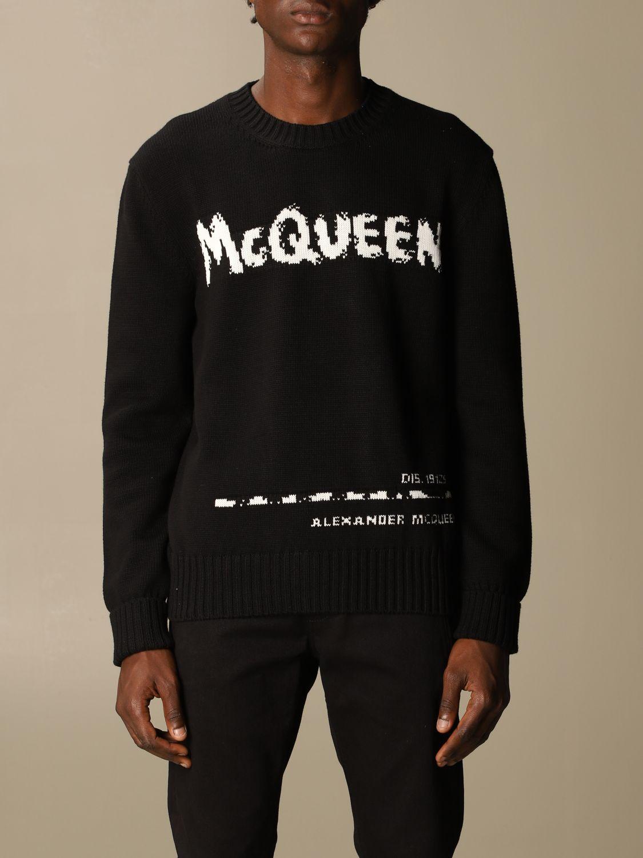 Sweatshirt Mcq Mcqueen: Sweatshirt herren Mcq Mcqueen schwarz 1