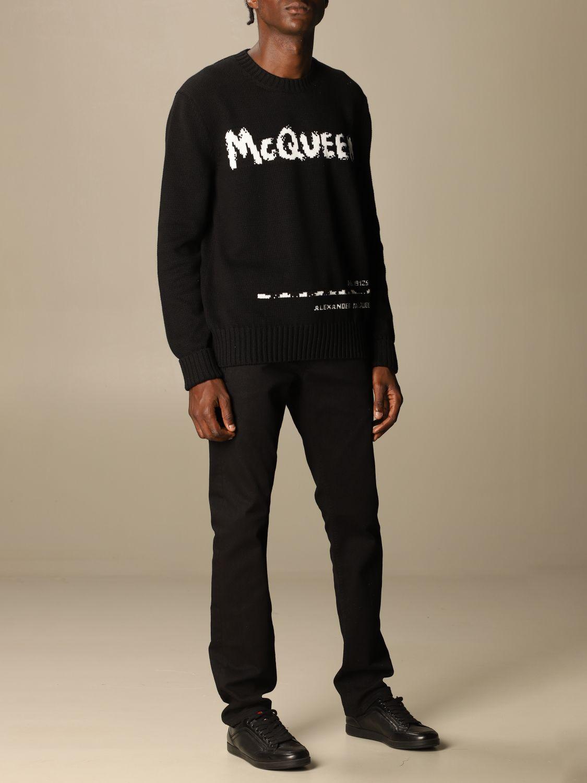 Sweatshirt Mcq Mcqueen: Sweatshirt men Mcq Mcqueen black 2