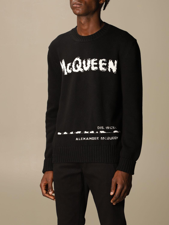 Sweatshirt Mcq Mcqueen: Sweatshirt herren Mcq Mcqueen schwarz 4