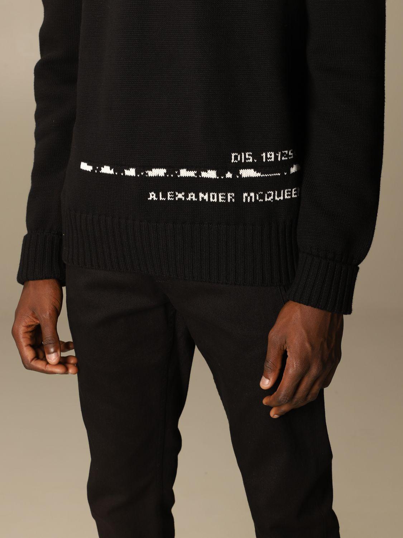 Sweatshirt Mcq Mcqueen: Sweatshirt herren Mcq Mcqueen schwarz 5