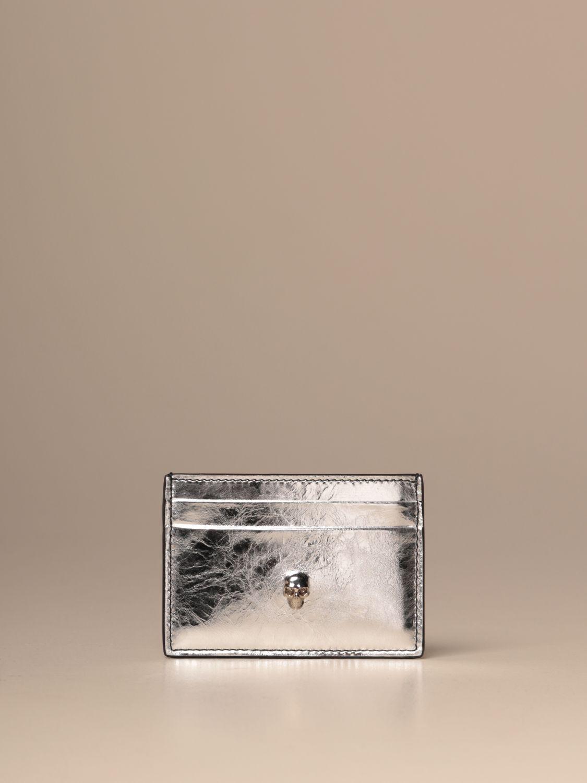 Wallet Mcq Mcqueen: Wallet women Mcq Mcqueen silver 1
