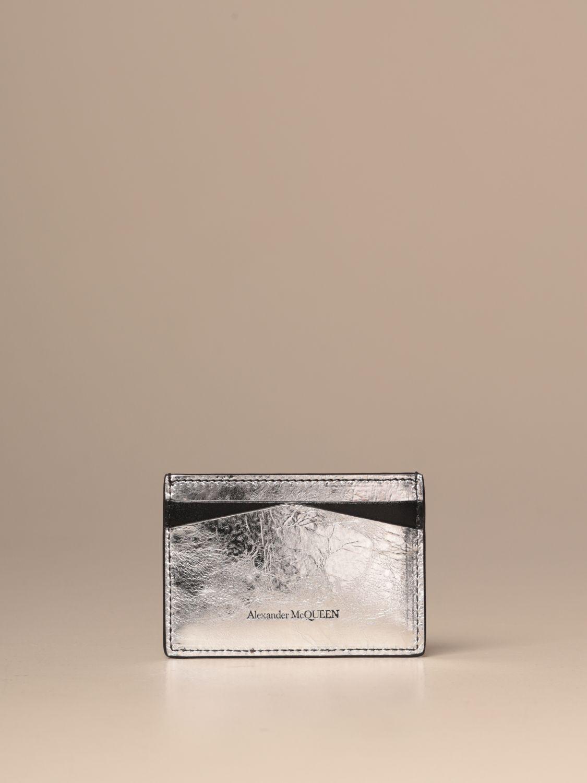 Wallet Mcq Mcqueen: Wallet women Mcq Mcqueen silver 2