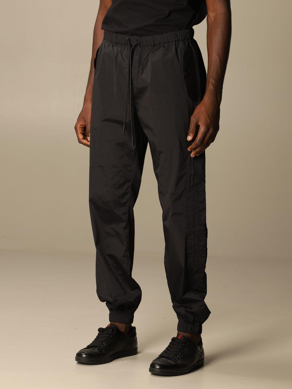Pantalón Marcelo Burlon: Pantalón hombre Marcelo Burlon negro 4