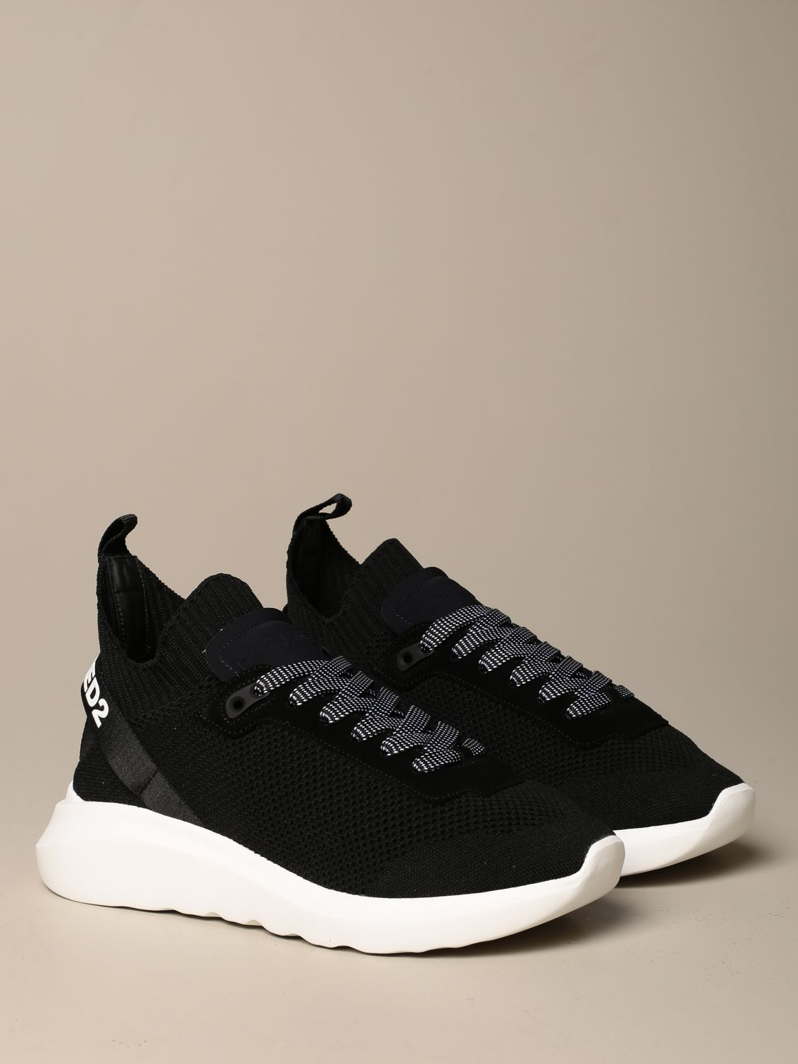 Sneakers Dsquared2: Dsquared2 sneakers in technical fabric with logo black 2