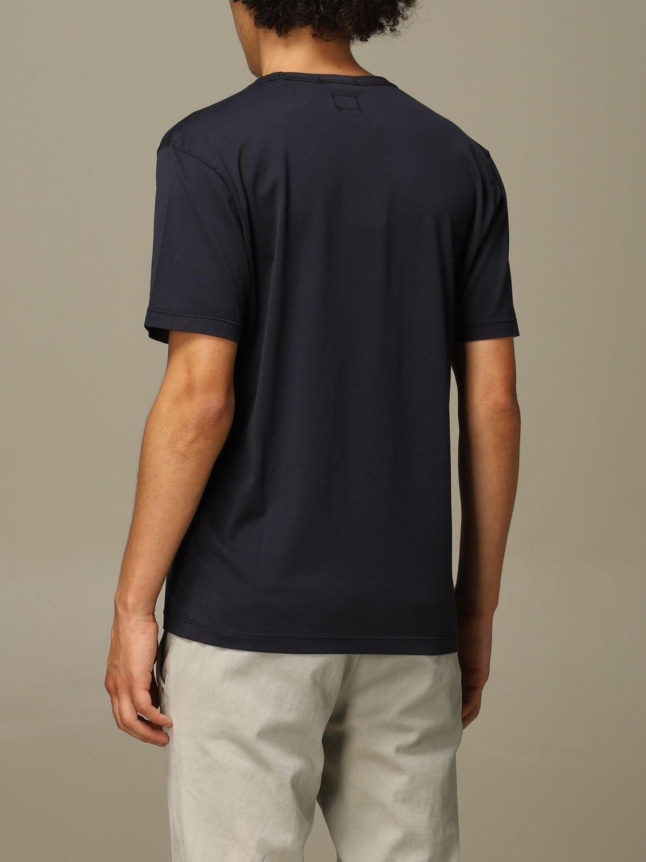T-Shirt C.p. Company: T-shirt herren C.p. Company blau 2