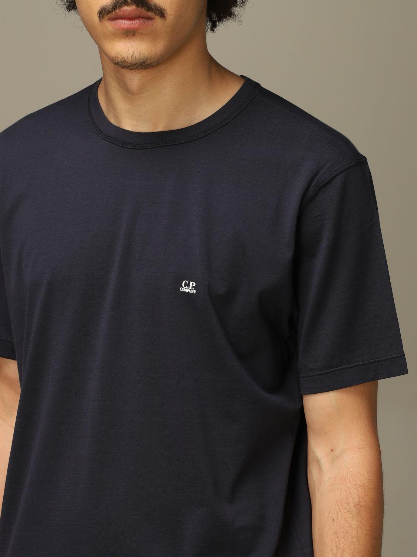 T-Shirt C.p. Company: T-shirt herren C.p. Company blau 3