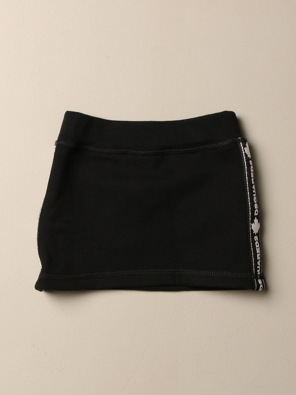 半身裙 Dsquared2 Junior: 半身裙 儿童 Dsquared2 Junior 黑色 2
