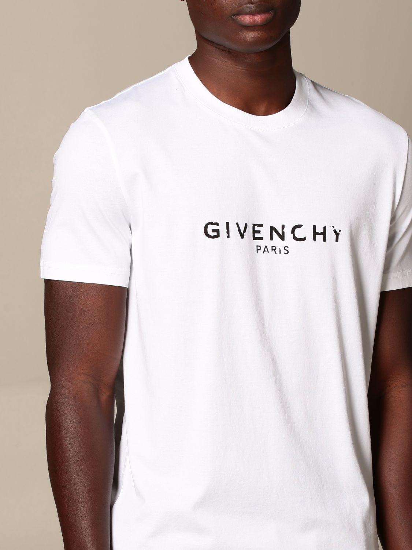 GIVENCHY T shirt herren   T Shirt Givenchy Herren Weiß   T Shirt ...