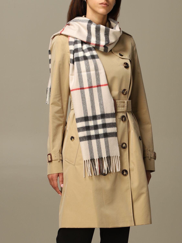 Scarf Burberry: Scarf women Burberry beige 1