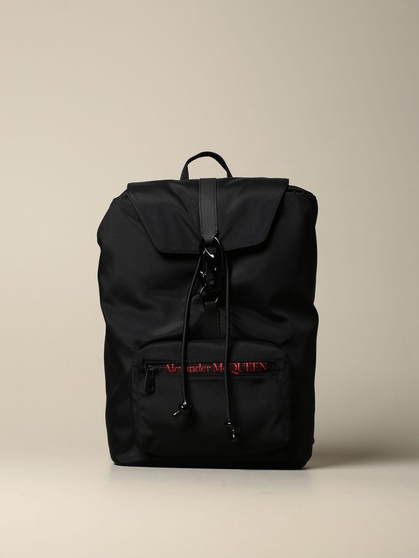 Backpack Alexander Mcqueen: Backpack men Alexander Mcqueen black 1