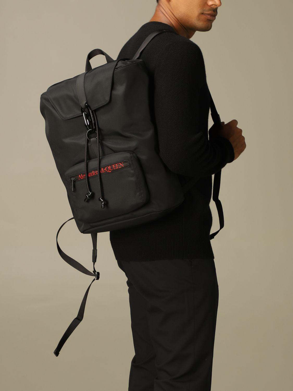 Backpack Alexander Mcqueen: Backpack men Alexander Mcqueen black 2