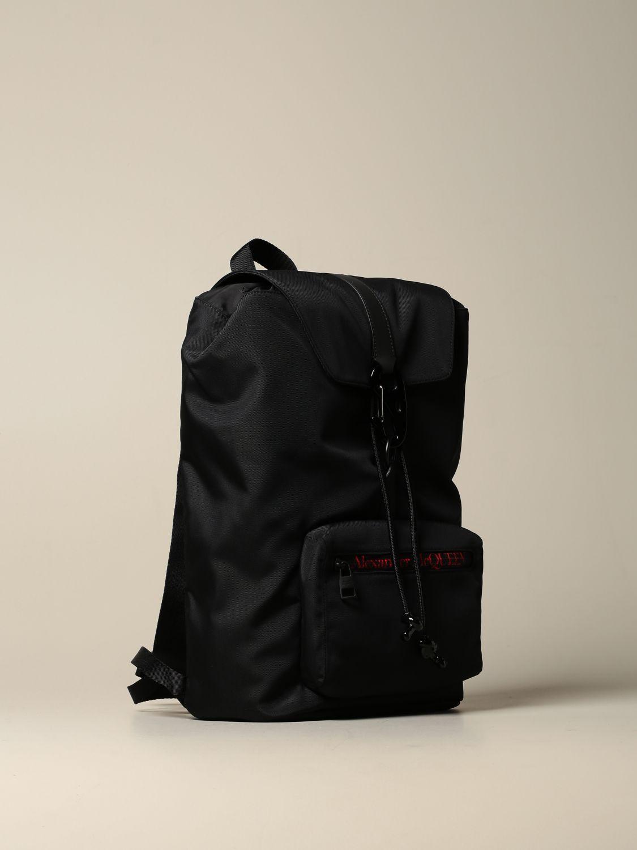 Backpack Alexander Mcqueen: Backpack men Alexander Mcqueen black 3