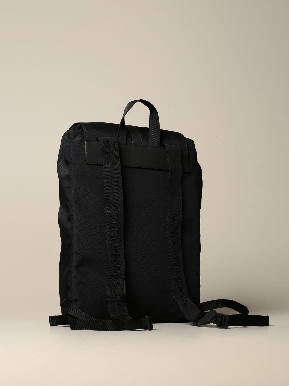 Backpack Alexander Mcqueen: Backpack men Alexander Mcqueen black 4