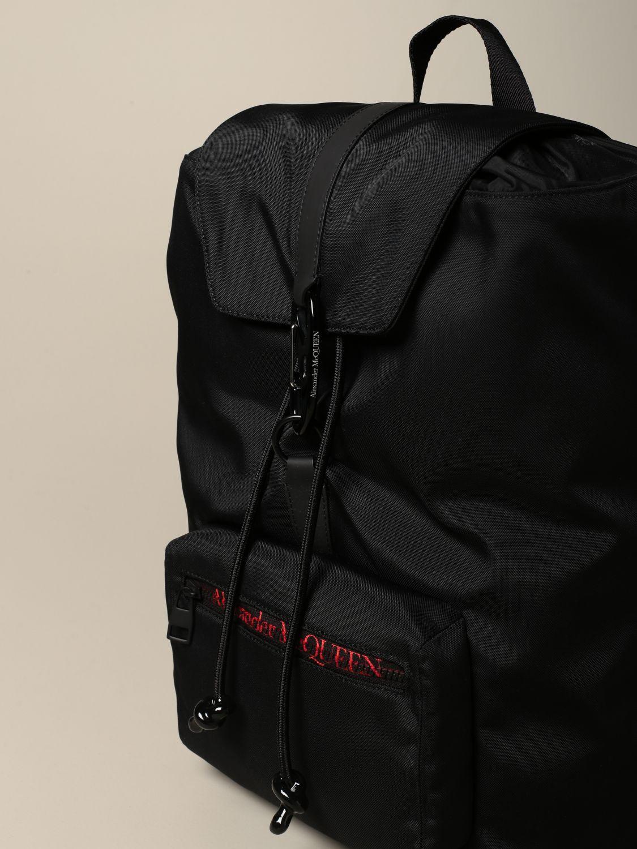Backpack Alexander Mcqueen: Backpack men Alexander Mcqueen black 5
