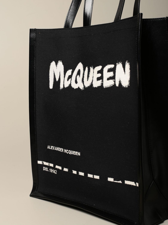Сумка Alexander Mcqueen: Сумка Мужское Alexander Mcqueen черный 4