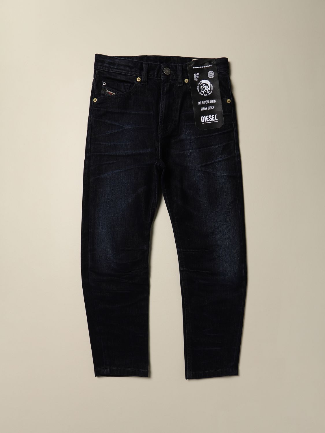 Jeans Diesel: Jeans Diesel carrot fit in denim blue 1