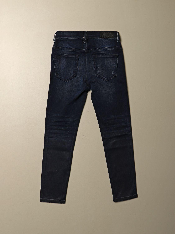 Jeans Diesel: Jeans Diesel skinny fit in denim con micro rotture blue 2