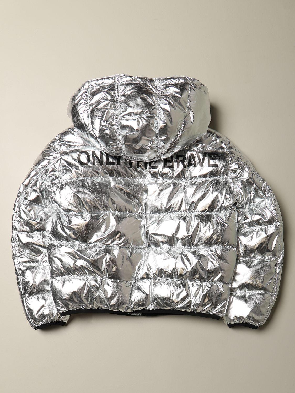 Jacket Diesel: Jacket kids Diesel silver 2