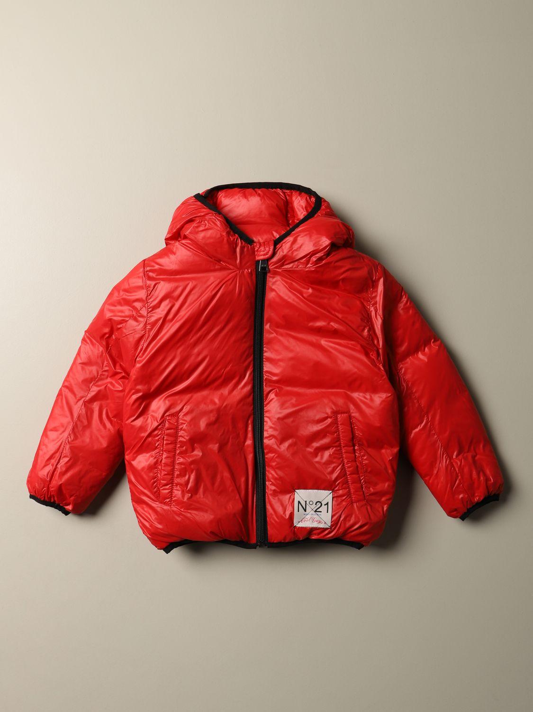 Куртка N° 21: Куртка Детское N° 21 красный 1