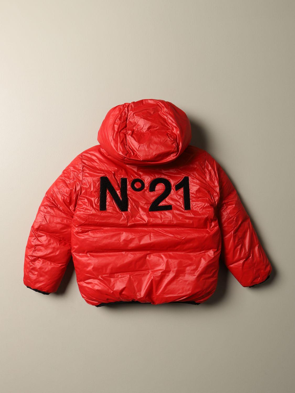 Куртка N° 21: Куртка Детское N° 21 красный 2
