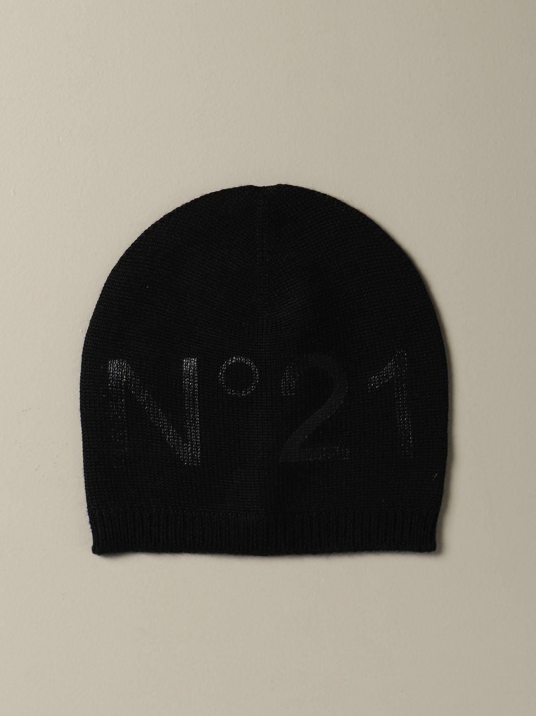 Hut N° 21: Hut kinder N° 21 schwarz 1