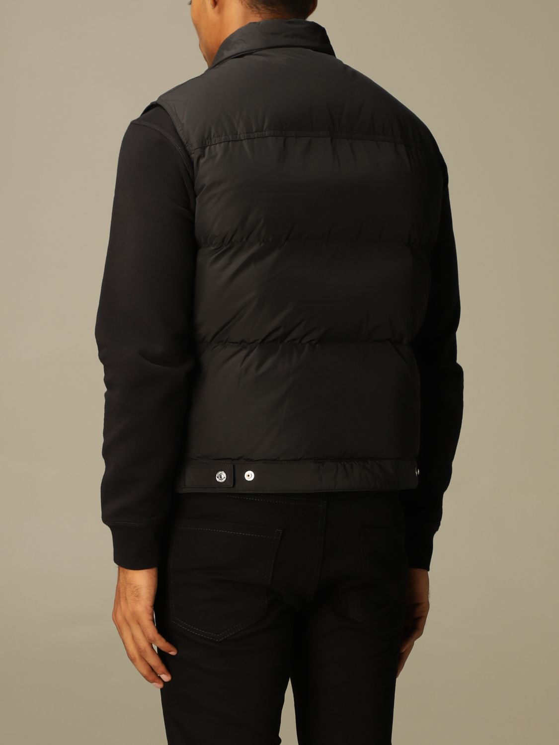 Sweater Dsquared2: Dsquared2 padded vest in nylon black 3