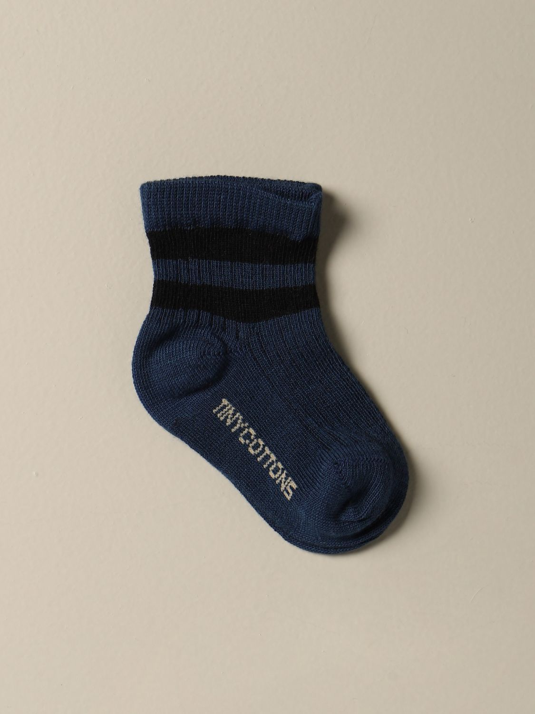 Chaussettes bébé Tiny Cottons: Chaussettes bébé enfant Tiny Cottons bleu 1