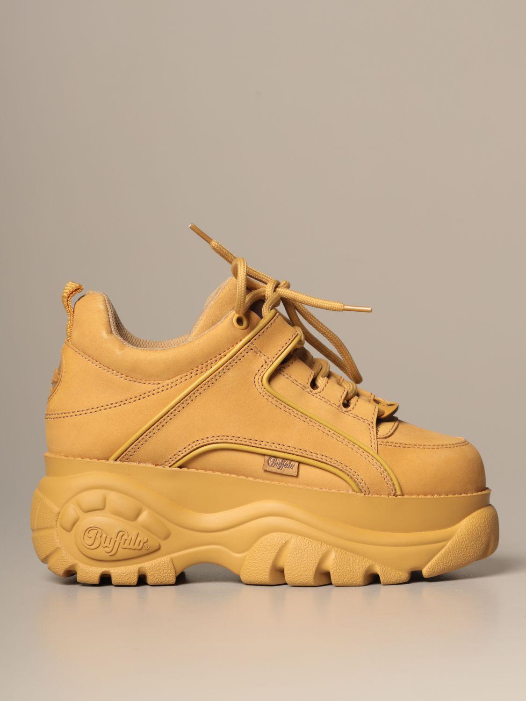 Sneakers Buffalo: Shoes women Buffalo beige 1