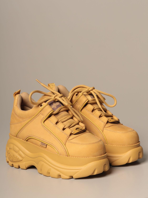Sneakers Buffalo: Shoes women Buffalo beige 2