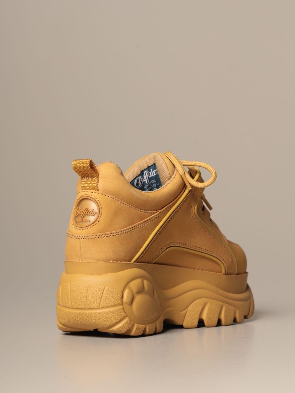 Sneakers Buffalo: Shoes women Buffalo beige 3