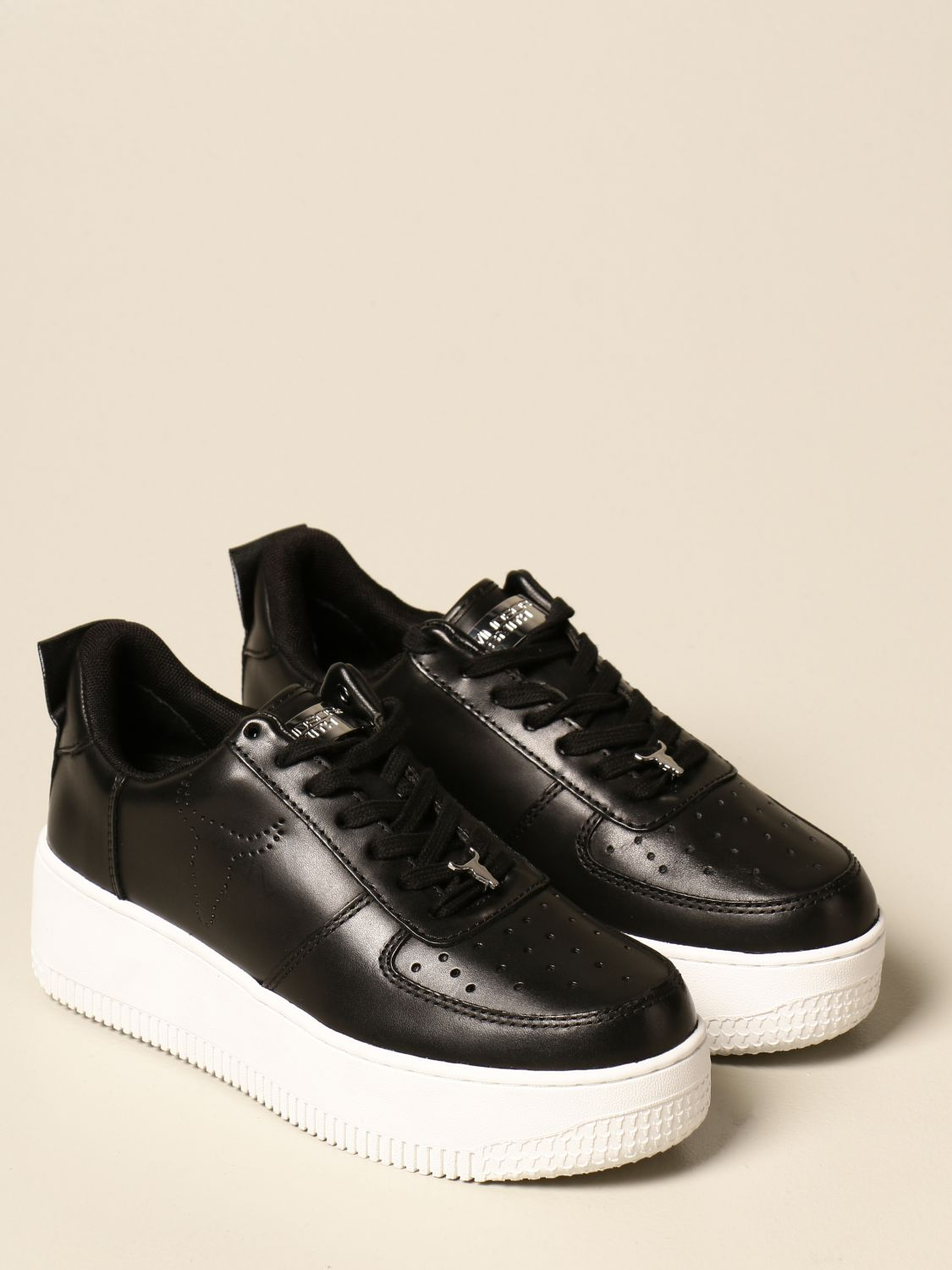 Sneakers Windsorsmith Asap: Windsorsmith sneakers in leather black 1 2