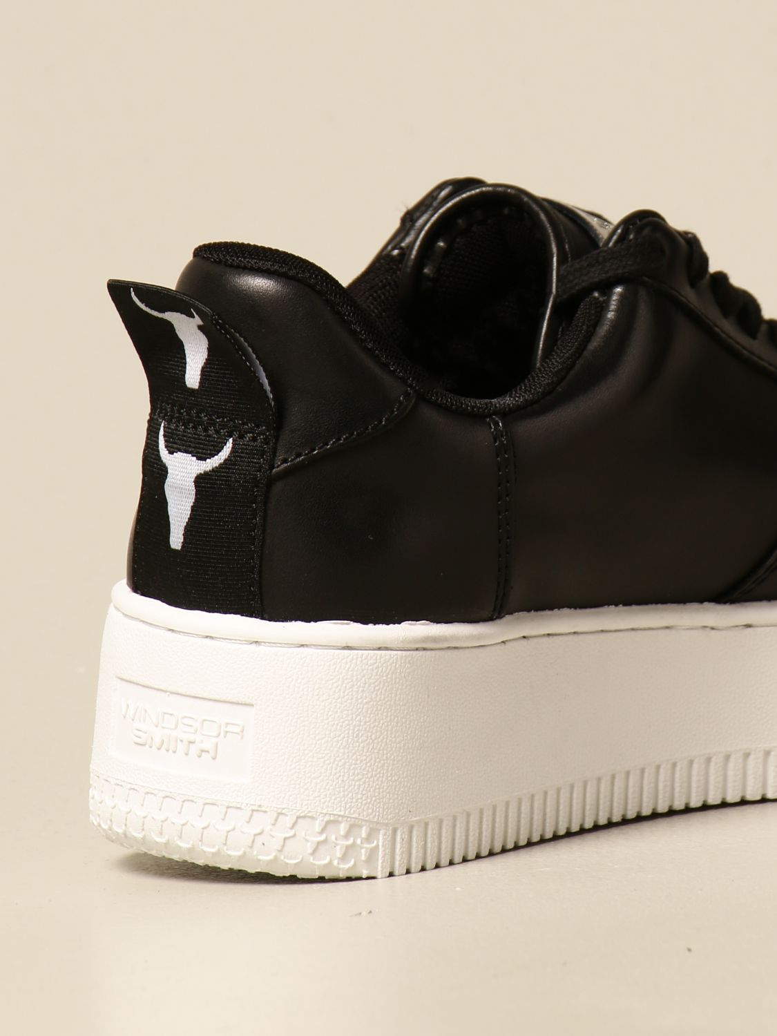 Sneakers Windsorsmith Asap: Windsorsmith sneakers in leather black 1 3