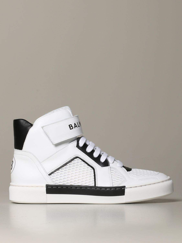 Zapatos Balmain: Zapatos niños Balmain blanco 1