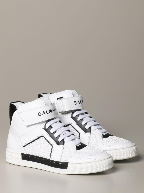 Chaussures Balmain: Chaussures enfant Balmain blanc 2