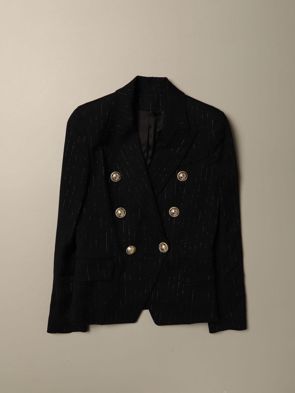 外套 Balmain: 外套 儿童 Balmain 黑色 1