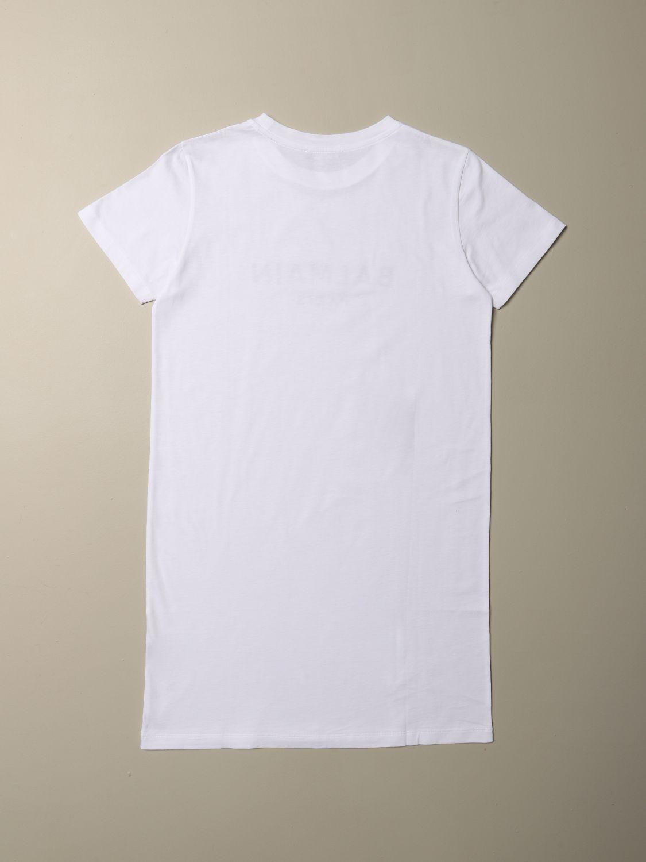 连衣裙 Balmain: 连衣裙 儿童 Balmain 白色 2