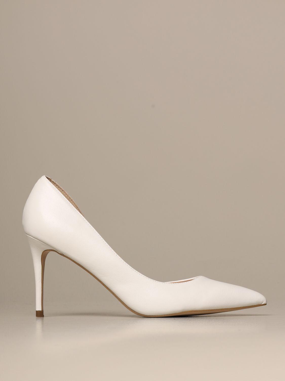 steve madden white high heels