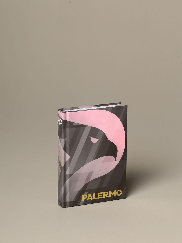 Oggettistica Palermo: Diario scuola Palermo con stemma aquila nero 1