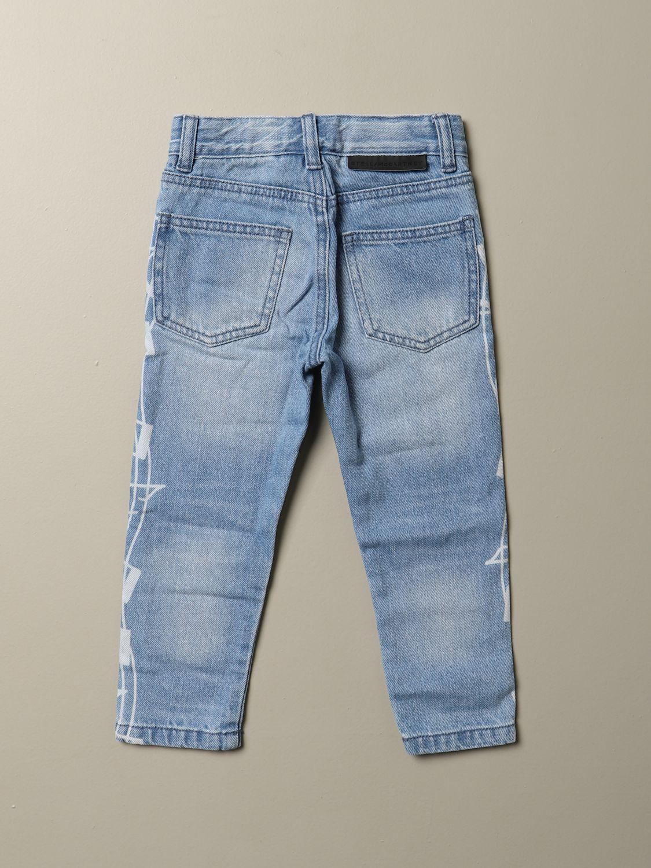 Jeans Stella Mccartney: Jeans Stella McCartney in denim used con note musicali denim 2