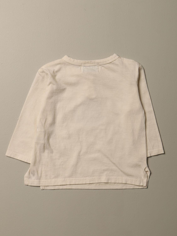 T-shirt Bobo Choses: T-shirt Bobo Choses con stampa e bottoni beige 2