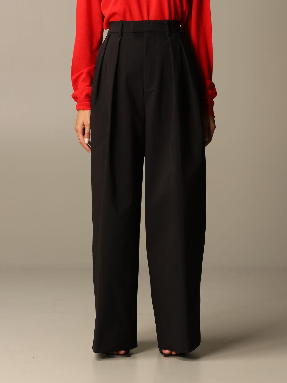 Pants Bottega Veneta: Wide Bottega Veneta trousers black 1