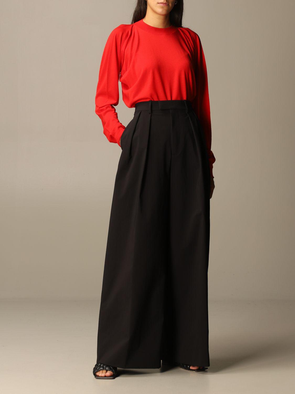 Pantalón Bottega Veneta: Pantalones cortos mujer Bottega Veneta negro 2