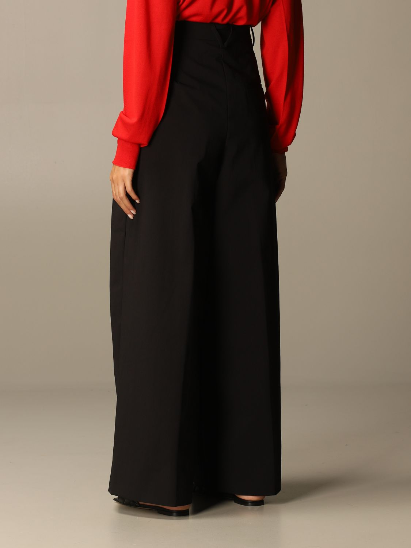 Pants Bottega Veneta: Wide Bottega Veneta trousers black 3