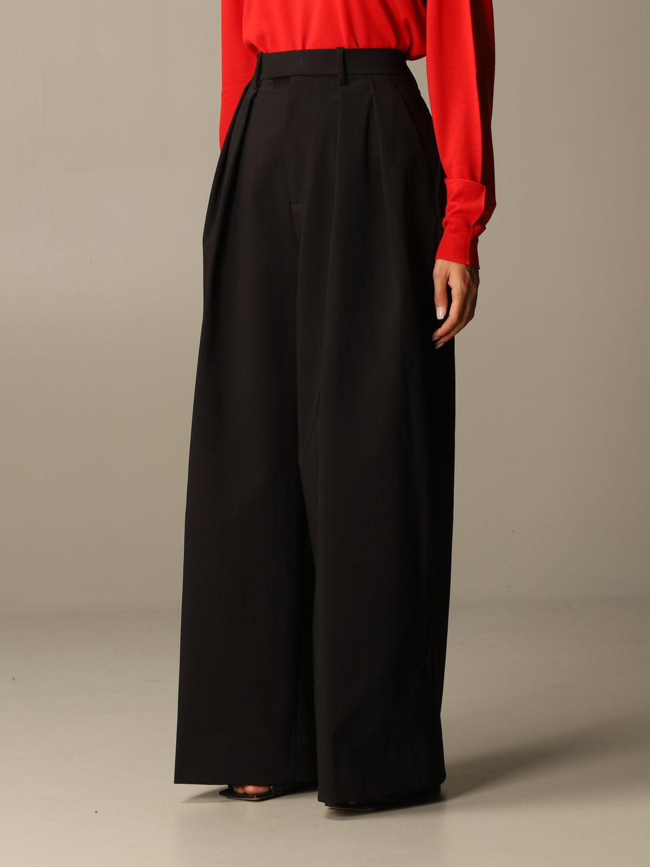 Pants Bottega Veneta: Wide Bottega Veneta trousers black 4