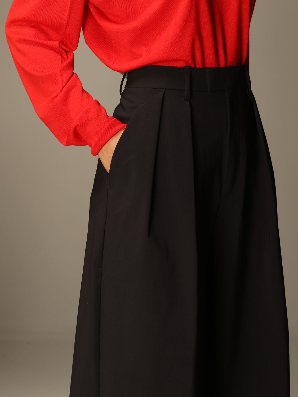 Pantalón Bottega Veneta: Pantalones cortos mujer Bottega Veneta negro 5