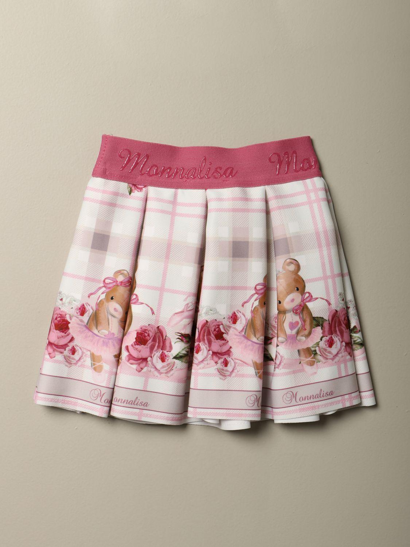 半身裙 Monnalisa: 半身裙 儿童 Monnalisa 奶油黄 2